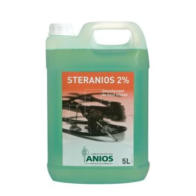 Dung dịch ngâm sát khuẩn dụng cụ Steranios G+R 5L - Pha sẵn, nồng độ 2% - Can 5L